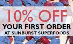 15% Off Your First Order at Sunburst Superfoods