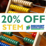 Save 20% on all STEM Teaching / School Supplies