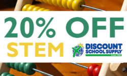 Save 20% on all STEM Teaching / School Supplies