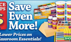 Save $25 Off an Order of $150 or More at Discount School Supply