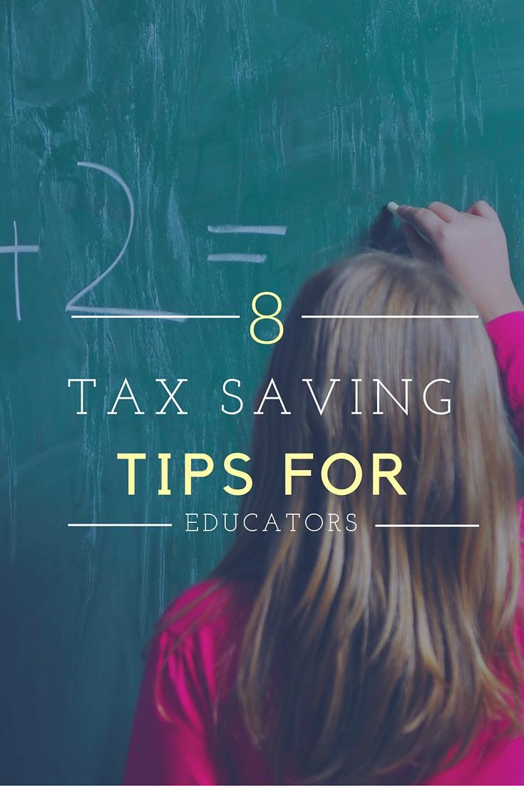Tax Savings Tips for Educators