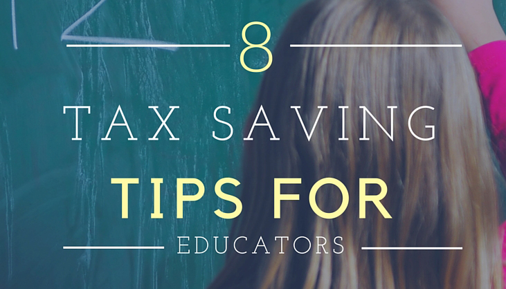 8 Tax Savings Tips for Teachers