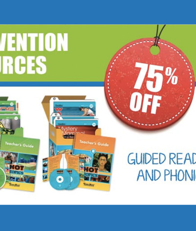 Intervention Resources Teacher Discount