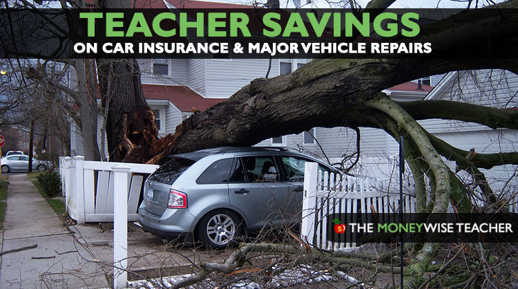 Teacher Savings on Car Insurance