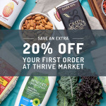 Up to 50% Off + 20% Off First Order at Thrive Market