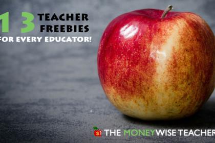 Teacher Freebies 2018