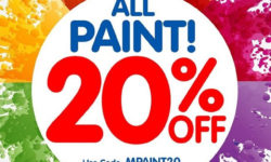 Celebrate National Craft Month with 20% Off All Paint