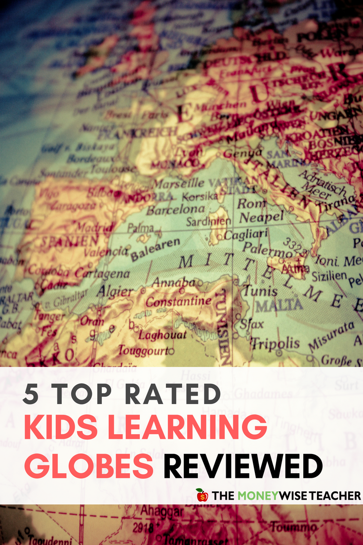 Kids Learning Globes Pinterest