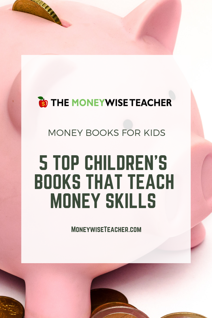 Money Books for Kids Pinterest