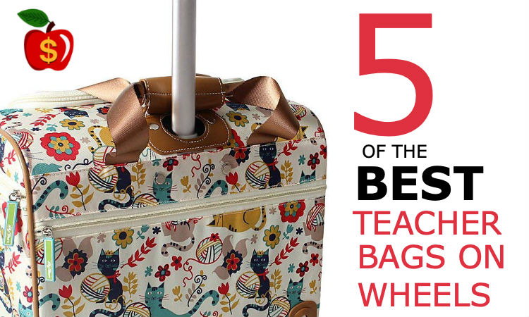 14c6447034e5 5 of the Best Teacher Bags on Wheels! - The Moneywise Teacher