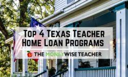 Texas Teacher Home Loans
