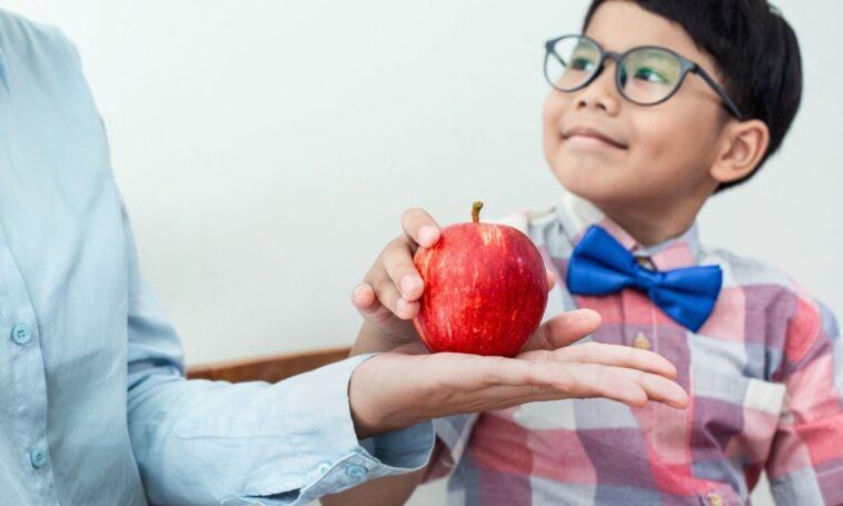 Why do Teachers Get Apples?